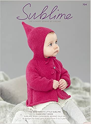 ab826d3dd The Nineteenth Little Sublime Hand Knit Book 704  Sublime  Amazon ...