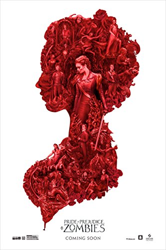 Pride and Prejudice and Zombies - Movie Poster (2016), Size 12 x 18