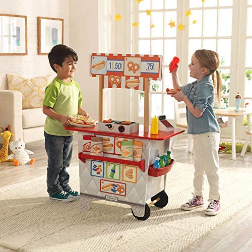 My Ultimate Snack Stand with EZ Kraft Assembly 360° Play 54-Piece Food & Accessory ()