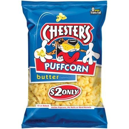 Chester's Puffcorn Butter Puffed Corn Snacks, 3.5 Oz (1 bag) ()