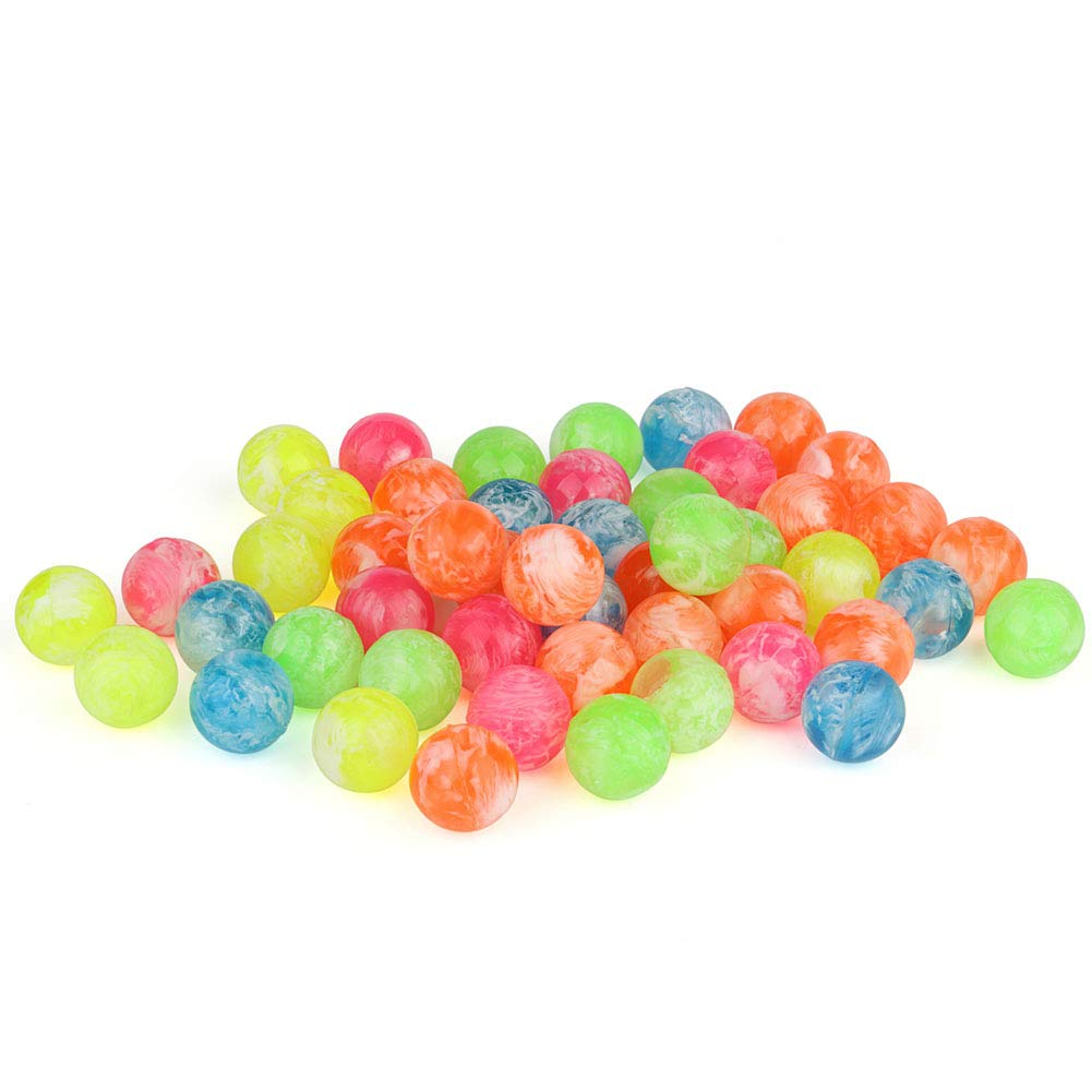 Balls 50pcs/lot Clouds Bouncy Bulk Set Kids Boys - Assorted Colorful Neon Mixed Pattern Design Kids Playtime,Party Favors,Birthdays & More