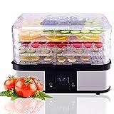 HAPPYGRILL Food Dehydrator Machine, Best Electric 5-Tier Home Food Meat Beef Jerky Fruit