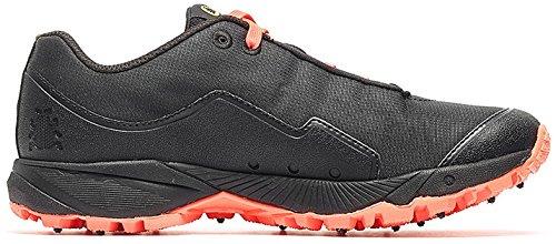 Icebug Mujeres Pytho4 Bugrip Zapatos Negro / Neon Peach