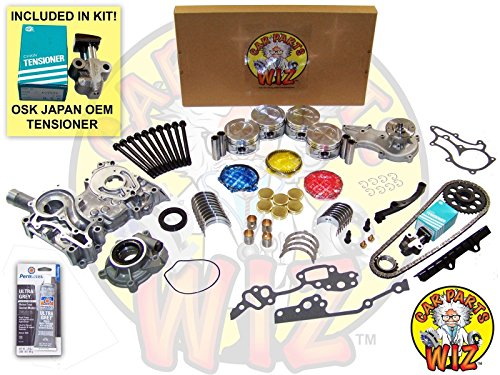 Master Engine Rebuild Kit Bolts Fits 85-95 Toyota 2.4L SOHC 8v 22R 22RE 22REC ()