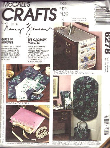 McCall's Crafts Pattern 6278 Nancy Zieman Crafts