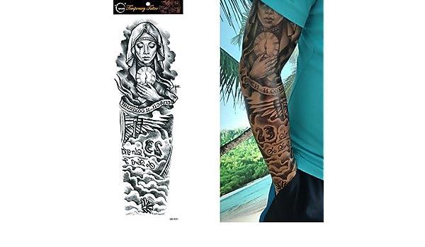 MZP Tatuajes Adhesivos Otros Non Toxic Talla Grande Waterproof ...
