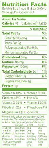 Simple Truth USDA Unsweetened Almondmilk Lactose Free & Soy Free 32 Oz. (Pack of 2): Amazon.com: Grocery & Gourmet Food