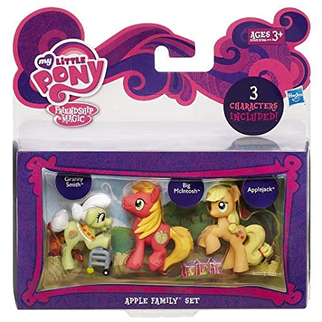 My Little Pony Friendship is Magic Apple Family Set 3Pack Granny ...