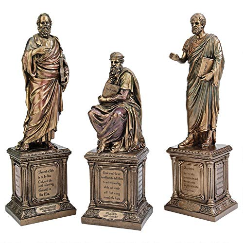 Design Toscano Master of Western Philosophy Statue Set