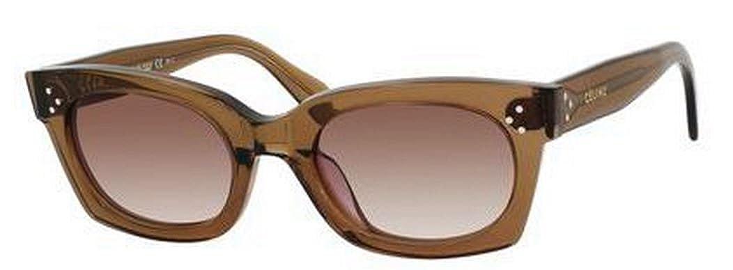 Amazon.com: Celine 41029/S sunglasses-0fu4 Café (5I Brown ...