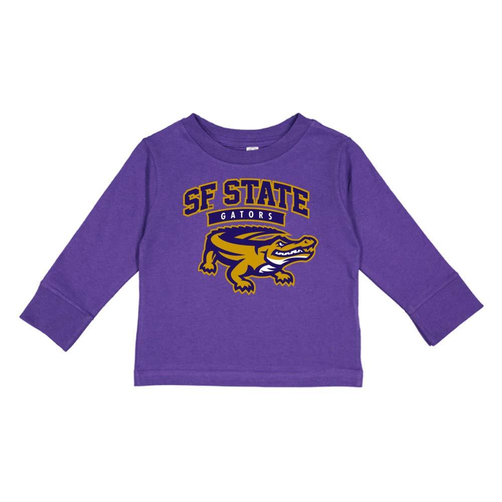 NCAA San Francisco University RYLSFS06 Toddler Long-Sleeve T-Shirt