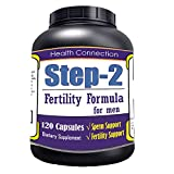 Step-2 For Men, Fertility Support Aid, 120Pill/Bottle Lowest Price Made in USA Sexual Performance Pills Sex Drive Testosterone Male Sex Enhancement Dietary Supplement