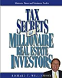 img - for Tax Secrets of Millionaire Real Estate Investors book / textbook / text book