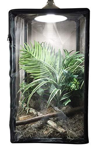Educational Science ReptilariumTM - Reptile cage, Bird, Small Animal, and Insect Habitat Terrarium - 16.5 x 16.5 x 30-inches (38-Gallon) REP38