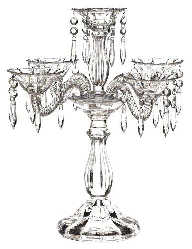 Godinger Wellington 5-Light Crystal Candeabra