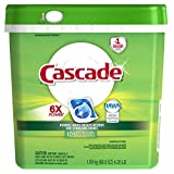 Image of Cascade Fresh Scent Dishwashing Detergent Action Pacs, 105 Count