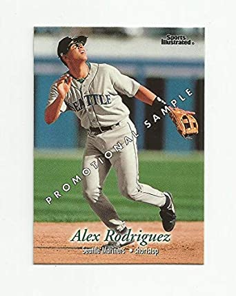 - Seattle Mariners RC New York Yankees! 1994 Upper Deck # 24 Alex Rodriguez Rookie Baseball Card In Protective Display Case