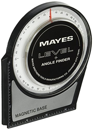 Great Neck Mayes 10156 Protractor Angle Finder, Large