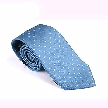 xzlp99 Hombres de seda corbata a rayas y corbata lunares corbata ...