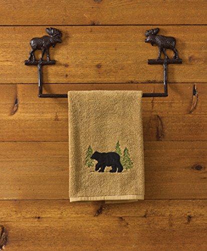 Park Designs Cast Moose Towel Bar - 16
