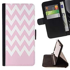 King Case - FOR Sony Xperia Z1 L39 - World of the transparent - Prima caja de la PU billetera de cuero con ranuras para tarjetas, efectivo Compartimiento desmontable y correa para la mu?eca