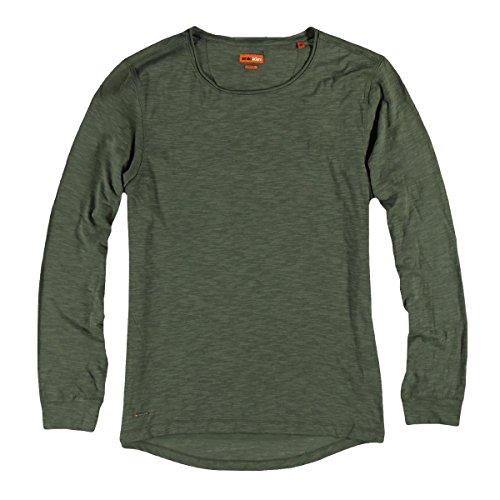 emilio adani Herren Rundhals Shirt, 24636, Grün