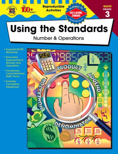Read Online Using the Standards - Number & Operations, Grade 3 pdf