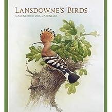 Lansdowne's Birds 2018 Wall Calendar / Lansdowne's Birds Calendrier Mural 2018