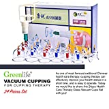 Brand New Kangzhu Hijama 24 cups Biomagnetic Chinese Cupping Therapy Set