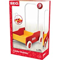 BRIO 31350 Toddler Wobbler,Red and Yellow