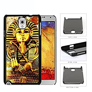Ancient Egyptian Pharaoh King Tutankhamun Hard Plastic Snap On Cell Phone Case Samsung Galaxy Note 3 III N9000 N9002 N9005