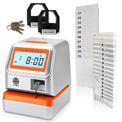 Digital Time Clock (AT-3000 Digital Time Clock and Date Stamp)