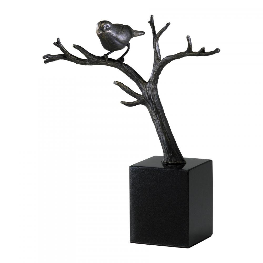 Old World 11In. Cardinal On Branches 02285