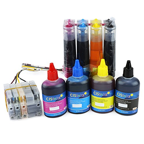 CISinks Continuous Ink Supply System CISS and Refill Ink Set for HP 950 951 Printers - Officejet Pro 276dw 251dw 8100 8600 8610 8620 8630 - HP950 HP951 CIS