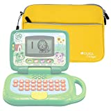 Yellow Water Resistant Neoprene Case / Cover for the LeapFrog My Own Leaptop - by DURAGADGET