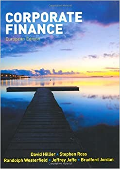 Corporate Finance by David Hillier (2010-01-01)