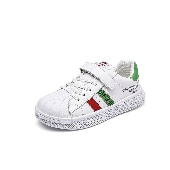 e8a70ee75 CX ECO Moda Entrenadores informales para niños Zapatillas de deporte bajas y  transpirables Zapatos casuales Ligero Suela suave Transpirable Moda Velcro  ...