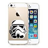 iPhone 5s/SE Case, Chrry Cases [Star Wars] Case Ultra Slim Transparent [Crystal Clear] TPU Case Cover for Apple iPhone 5s / iPhone SE - Storm Trooper
