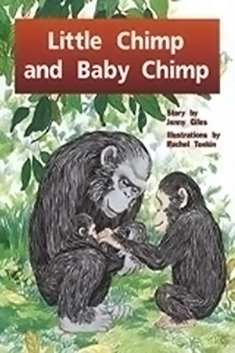 Read Online Rigby PM Plus: Individual Student Edition Blue (Levels 9-11) Little Chimp and Baby Chimp pdf