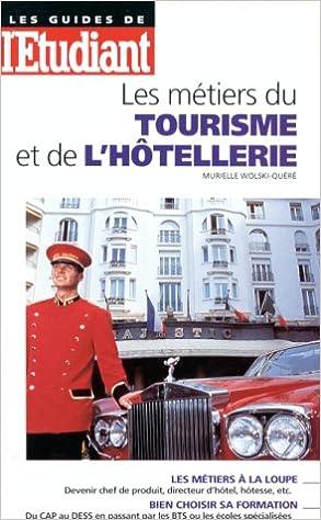 Téléchargement Les métiers du tourisme et de l'hôtellerie pdf, epub ebook