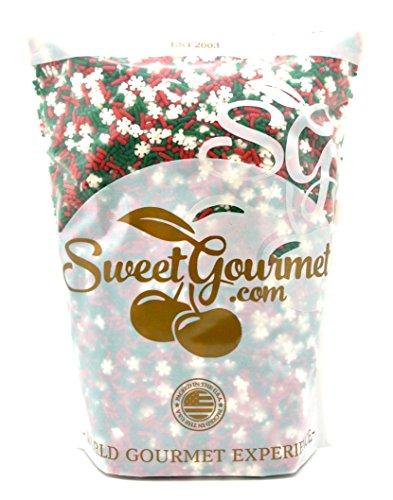 SweetGourmet Noel Mix - Christmas Sprinkles & Nonpareils (2Lb) for $<!--$17.69-->