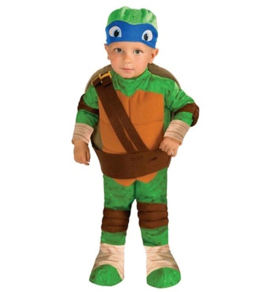 Rubies Teenage Mutant Ninja Turtles Leonardo Toddler Costume 3T/4T