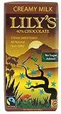 Lily's Creamy Milk Chocolate Bar with Stevia -- 3 oz - 2 pc