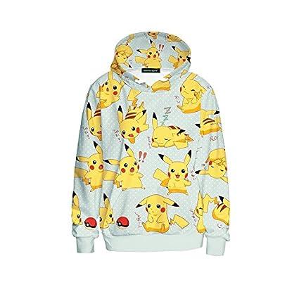 3475153cf8ca0 Amazon.com : Nyalex Autumn Pokemon Women Hoodies Sweatshirt Fashion ...