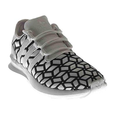 0fbbb14e8c9d adidas Originals Men s sl Rise Print Running Shoe White Black
