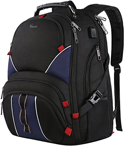 backpack Resistant Friendly Business Backpack Blue