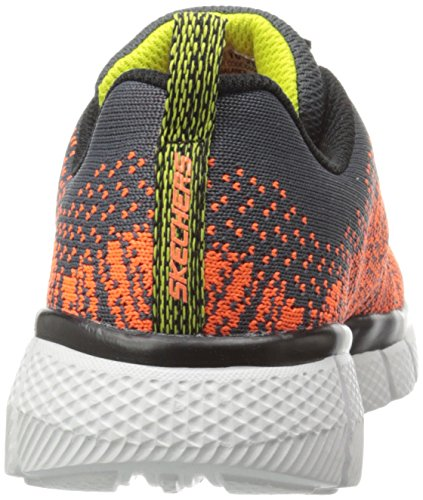 Skechers Equalizer 2.0 - Perfect Game - Zapatillas Niñas Gris - Grey (Charcoal/Orange)