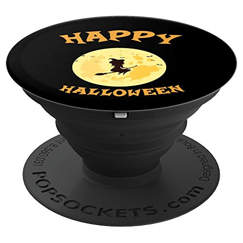 HAPPY HALLOWEEN - WITCHES FAVORITE HOLIDAY - PopSockets Grip and Stand for Phones and Tablets