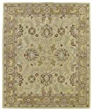 Kaleen Rugs Solomon Collection 4053-05 Gold  Hand Tufted 2'6″ x 8′ Rug For Sale