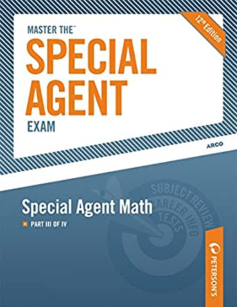 Amazon.com: Master the Special Agent Exam: Special Agent Math: Part ...